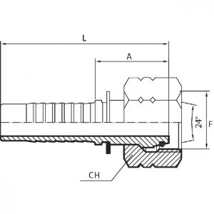M10 - Priključak matica (DKOL)