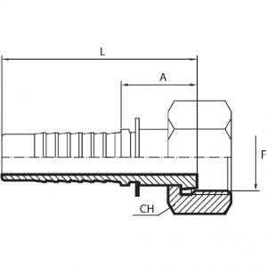 C30 - Priključak matica (ORFS)