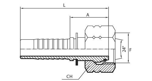 Milimetarski priključci (DKOL, CEL, DKOS, CES, KOMATSU)
