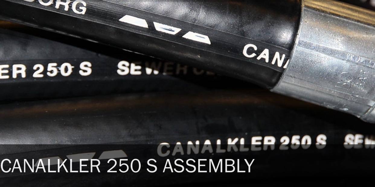 CANALKLER 250 S (Čišćenje odvoda & kanalizacije)