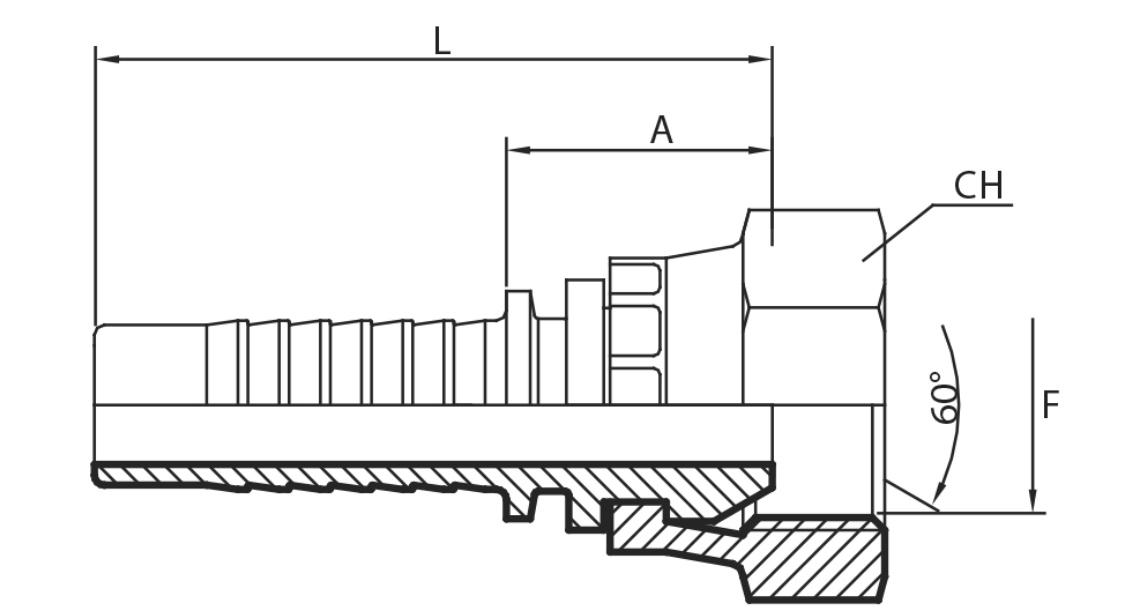 A50 - Priključak matica BSPP (DKR)